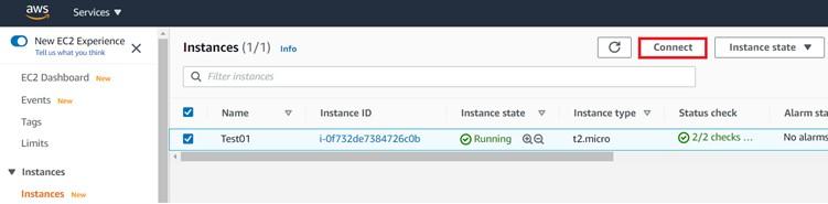 AWS Dataevolve instance